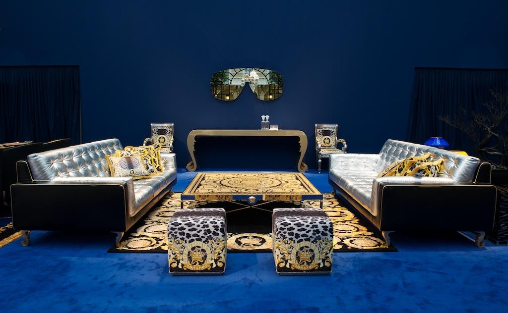 High in design premium furniture collection versace home collection 2013 Versace home furniture uk