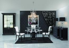 Finkeldei Gabriella Piato Crystal Dining Table